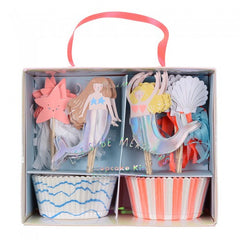 Mermaid Cupcake Party Kit - Meri Meri