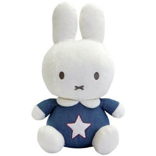 Miffy Denim Plush by nijntje