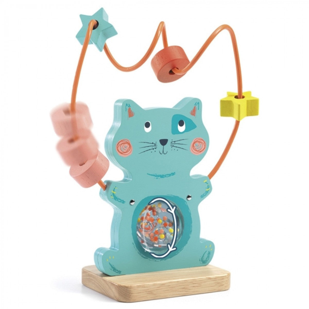 Minty the Cat Early Years Handling Game by Djeco - Little Citizens Boutique