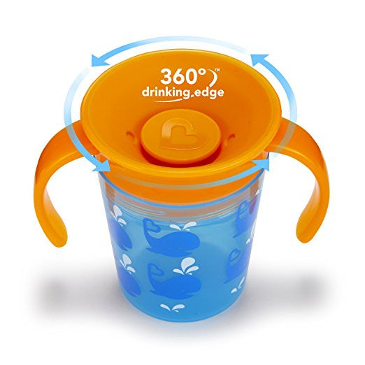 Miracle 360 Degrees Whale Cup by Munchkin