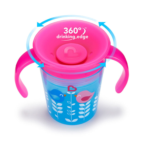 Miracle 360 Degrees Bird Cup by Munchkin