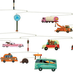Traffic Mobile by Tom Schamp for Djeco - Little Citizens Boutique  - 3