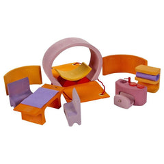 Mobile Home in Pink and Orange - Grimm's - Little Citizens Boutique  - 7