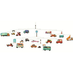 Traffic Mobile by Tom Schamp for Djeco - Little Citizens Boutique  - 1