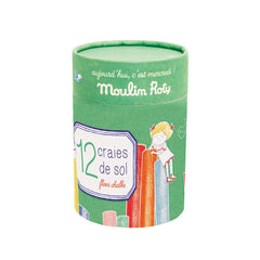 Sidewalk Outdoor Chalk by Moulin Roty - Little Citizens Boutique  - 2