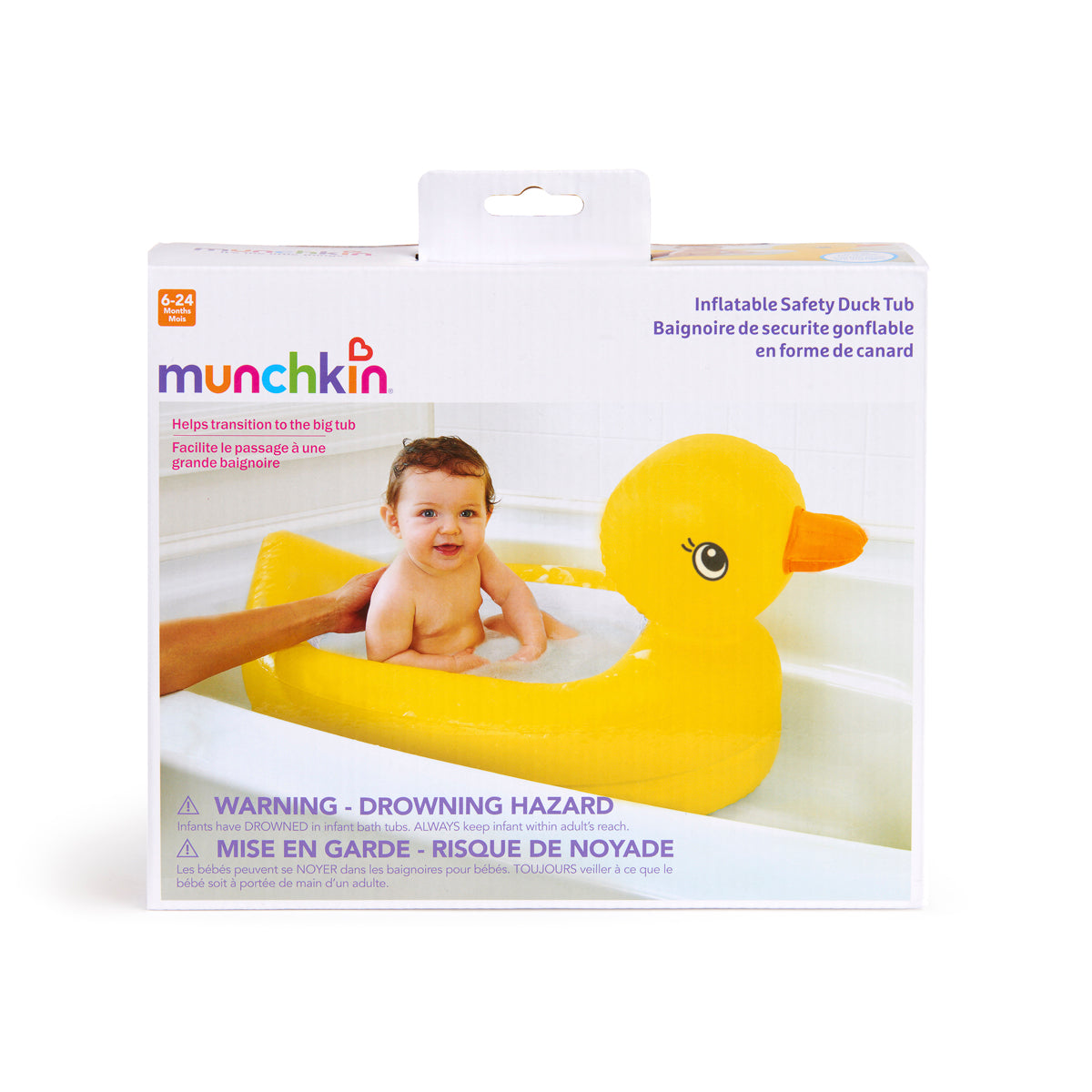 Duck Safety Baby Bath Tub by Munchkin – Little Citizens Boutique
