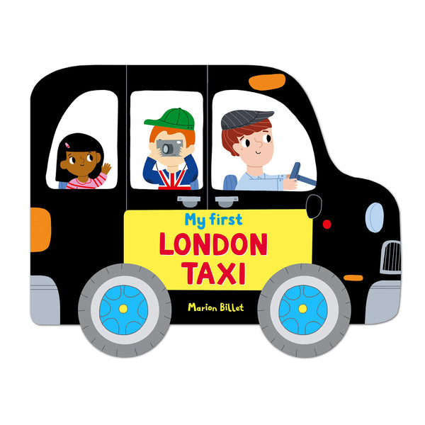 My First London Taxi by Marion Billet