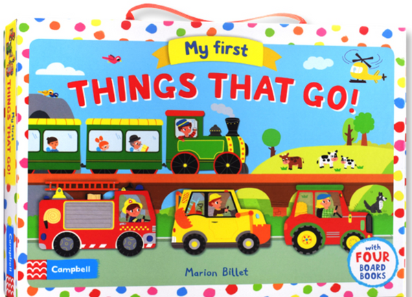 My First Things That Go by Marion Billet