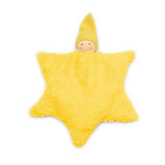 Organic Star Plush Heater Toy for Babies by Nanchen