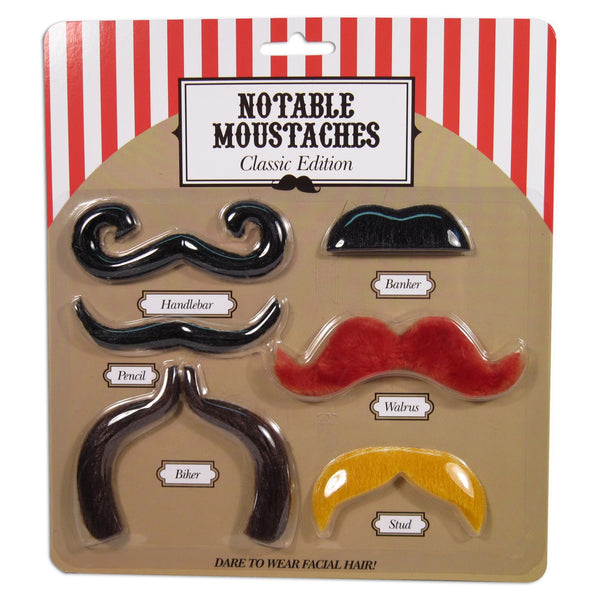 Notable Moustaches by NPW