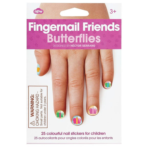 Fingernail Friends - Butterflies by Natural Products