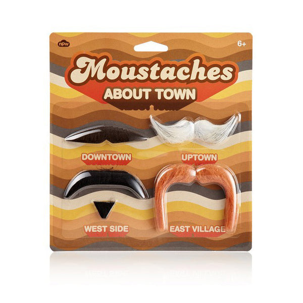 Moustaches About Town by Natural Products