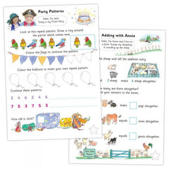 Number Fun Learning Book with Reward Stickers by Galt - Little Citizens Boutique  - 2