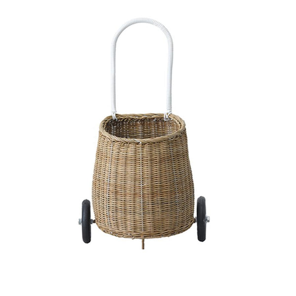 Luggy Pully Basket in Natural by Olli Ella