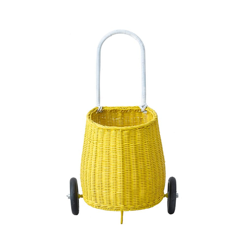 Luggy Pully Basket in Yellow by Olli Ella