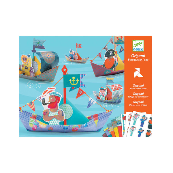 Origami Floating Boats Art Kit by Djeco