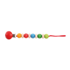 Pacifier Chain Rainbow Colours - Grimm's - Little Citizens Boutique