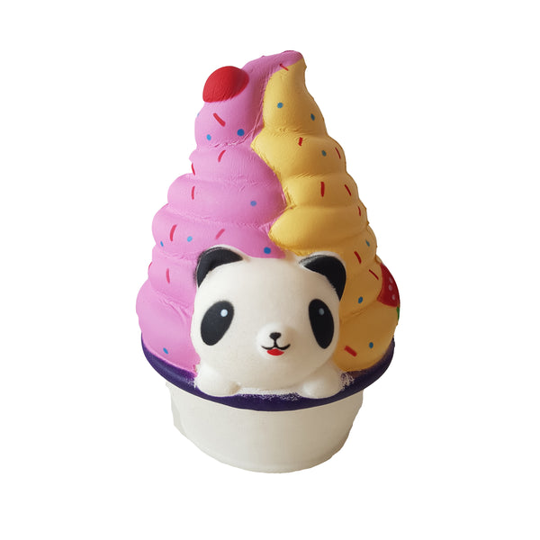 Panda Ice Cream Slow Rise Squishy