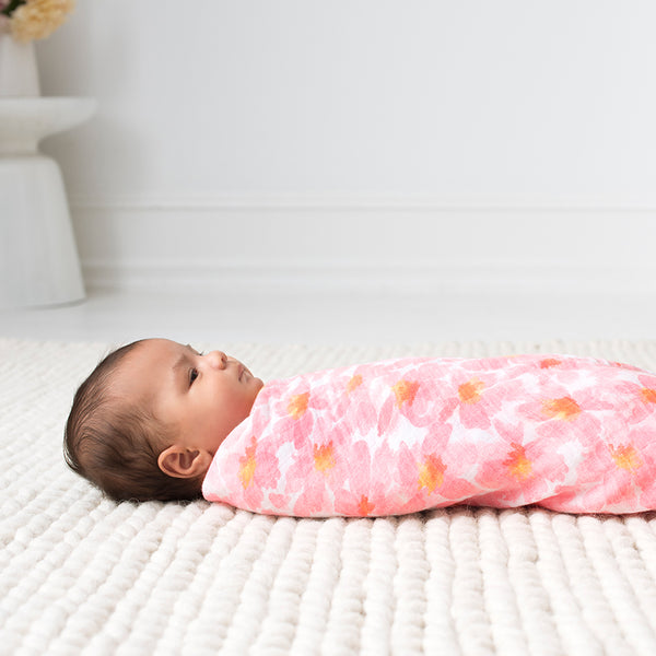 Petal Blooms 4 Pack Classic Swaddles from Aden & Anais