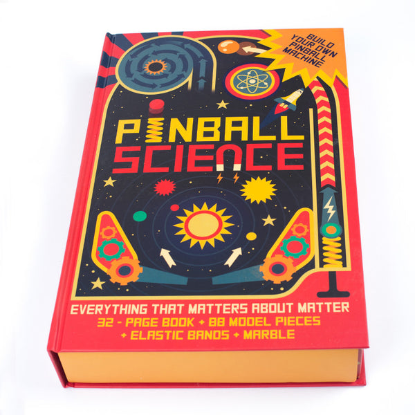 Pinball Science Book and Kit by Owen Davey