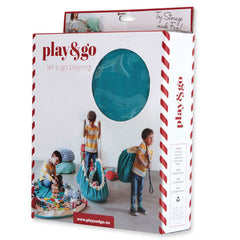 Toy Storage Bag & Mat - Blue Denim by Play & Go