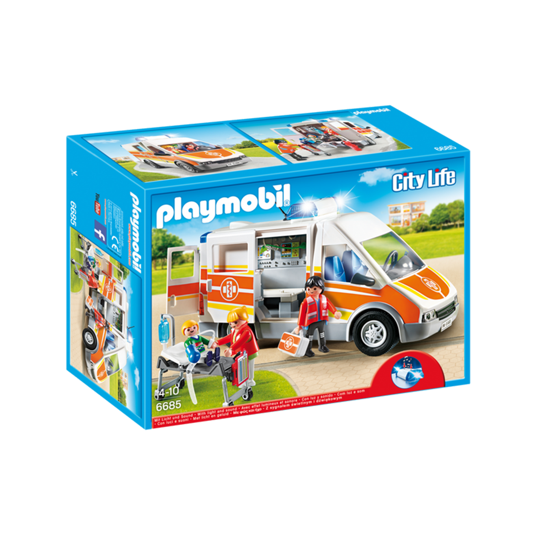 Playmobil Ambulance with Light and Sound