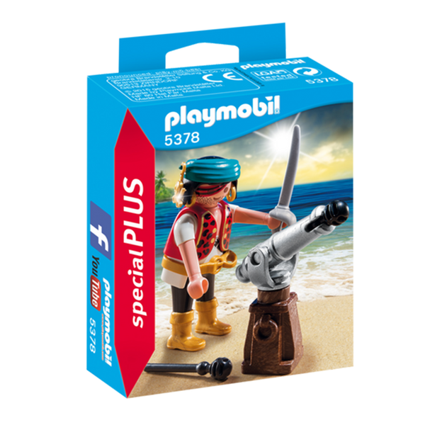 Playmobil Pirate with Canon