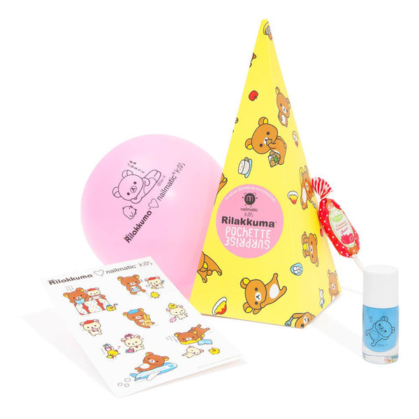 Surprise Box Rilakkuma Wash Off Kids Nail Polish by Nailmatic