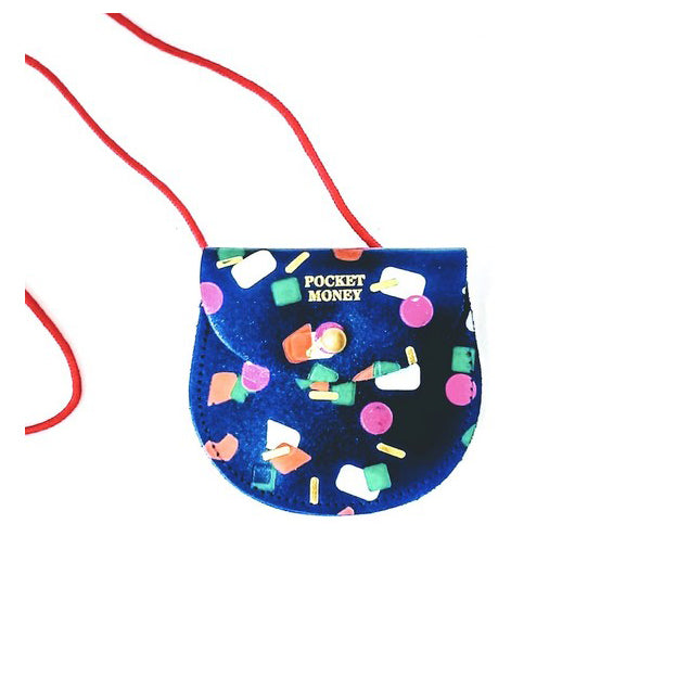 Blue Tutti Frutti Pocket Money Purse from ARK
