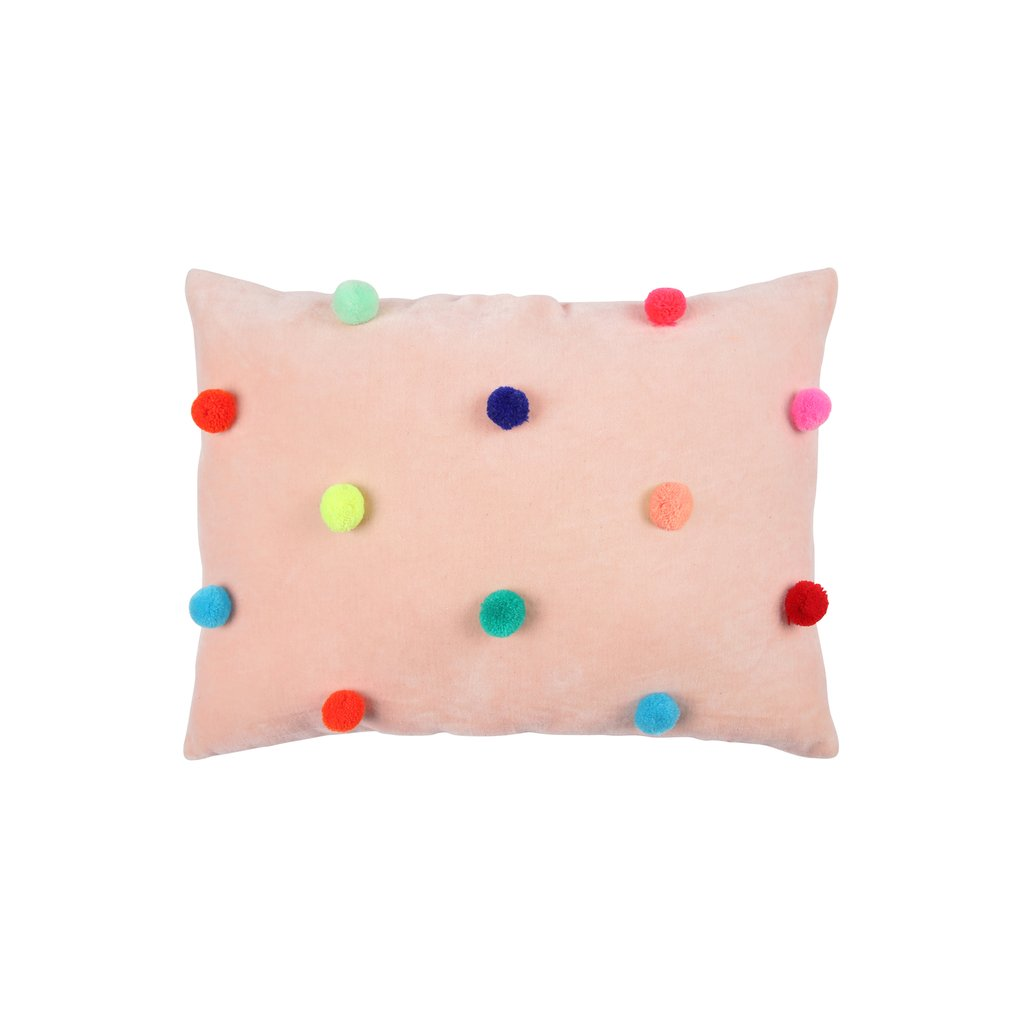Pom Pom Cushion by Meri Meri