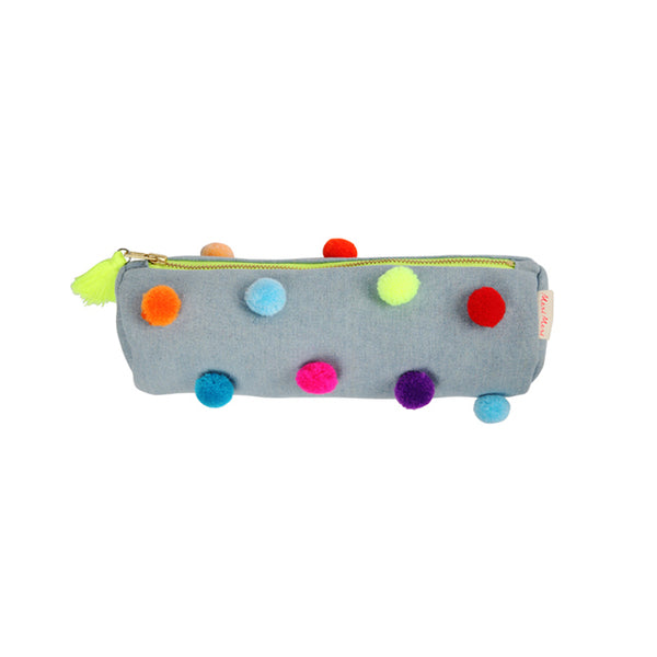 Pom Pom Pencil Case by Meri Meri