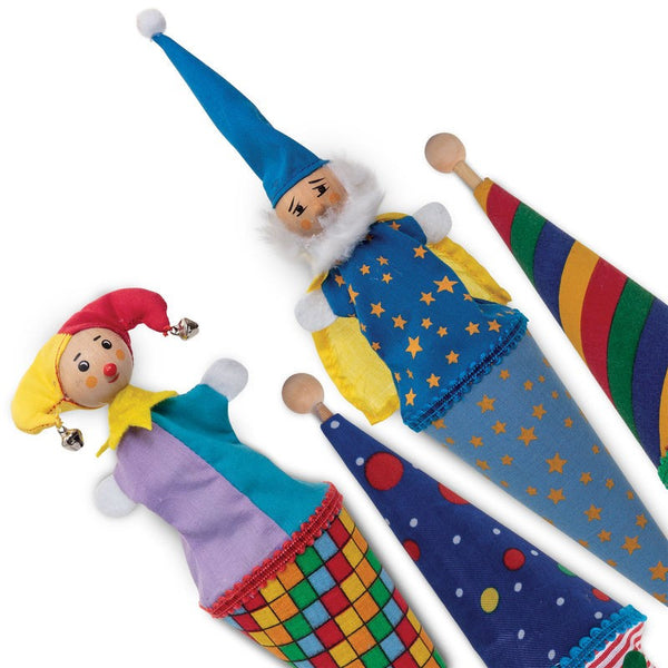 Pop Up Cone Puppets by Tobar