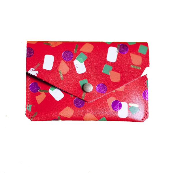 Red Tutti Frutti Popper Purse from ARK