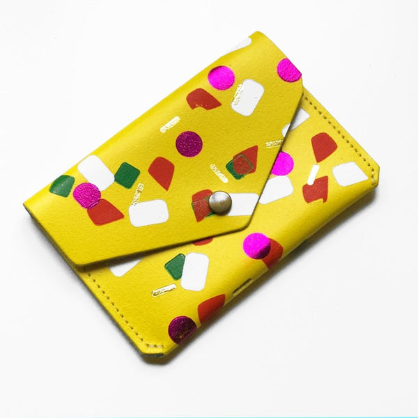 Yellow Tutti Frutti Popper Purse from ARK