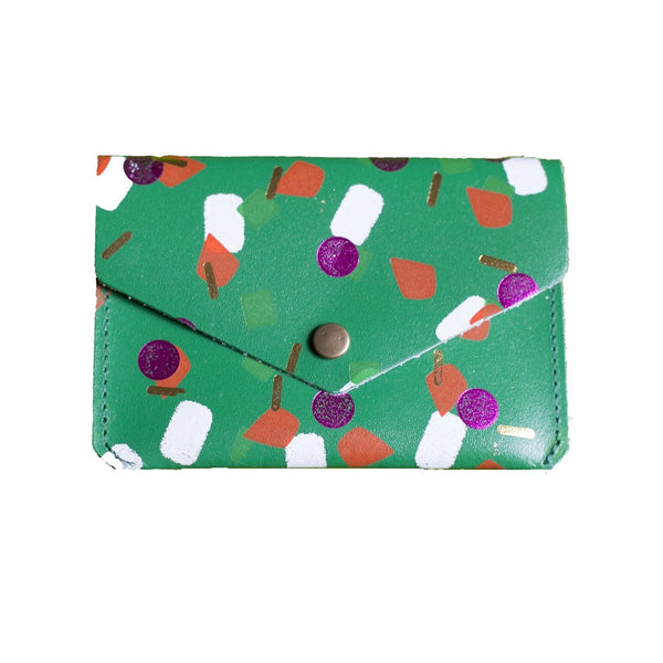 Green Tutti Frutti Popper Purse from ARK