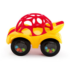 Rattle and Roll Car in Yellow by Oball