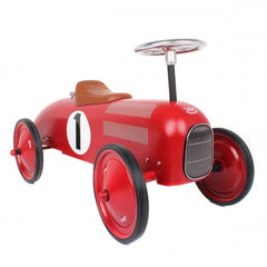 Classic Ride-On Racing Car - Red - Little Citizens Boutique  - 2