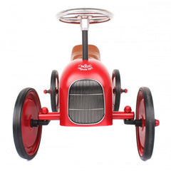 Classic Ride-On Racing Car - Red - Little Citizens Boutique  - 3