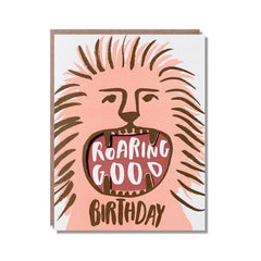 Roaring Good Birthday Card from Egg Press