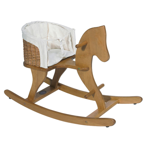 Wooden Rocking Horse by Moulin Roty