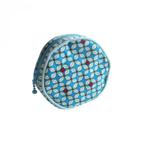 Helium Bleu Coin Purse by Petit Pan