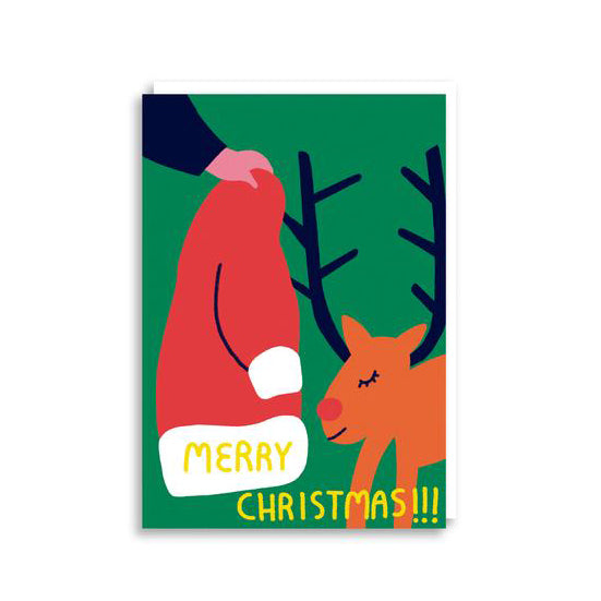 Rudolph Christmas Card from Cachetejack Cards
