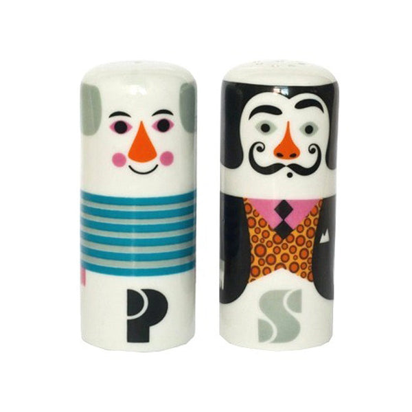 Salt & Pepper Shakers - Pablo and Salvador by Ingela P Arrhenius