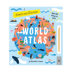Scratch and Discover World Atlas by Charlotte Trounce