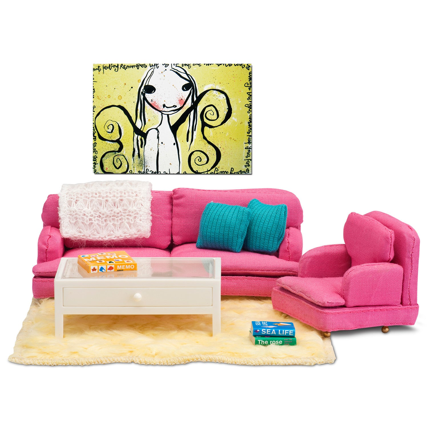 Pink Living Room Set By Smaland   Little Citizens Boutique   1