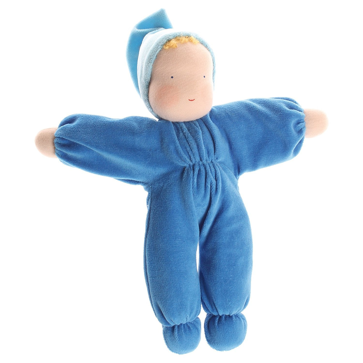 Soft Blue Waldorf Doll by Grimm