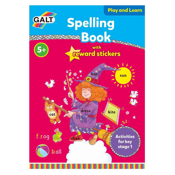 Spelling Fun Learning Book with Reward Stickers by Galt