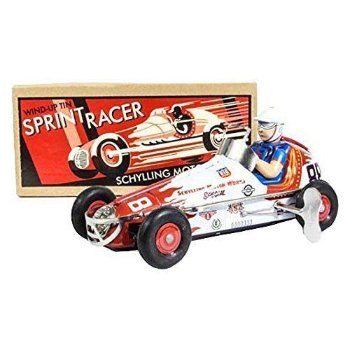 Wind Up Tin Sprint Racer by Tobar