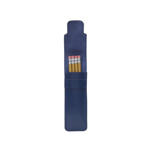Stay Sharp Blue Leather Pencil Set from ARK