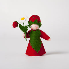 Strawberry Felt Dolly from Ambrosius